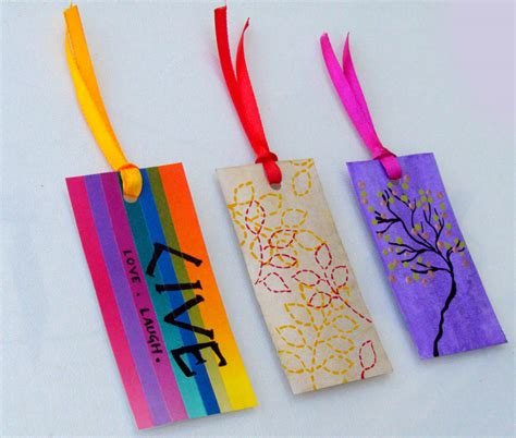 Cool Handmade Bookmarks - handmade bookmarks with quotes quotesgram