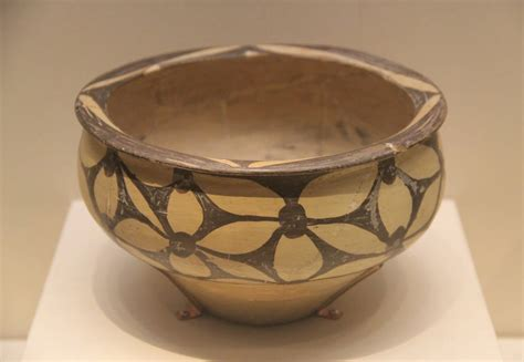 Yangshao Culture Vases by File Neolithic Painted Pottery Basin Yangshao Culture