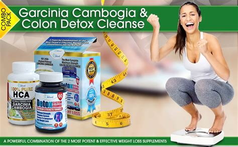 Garcinia Maxslim And Detox Now by Garcinia Cambogia Colon Detox Cleanse Combo