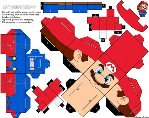 New Papercraft - papercraft new mario it s me mario