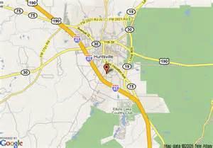 map of 8 motel huntsville huntsville