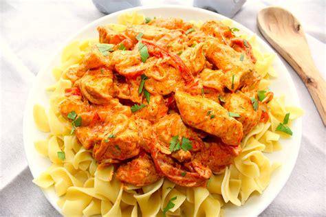 chicken paprika hungarian chicken paprikash the