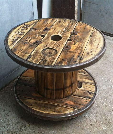 Kabeltrommel Als Tisch