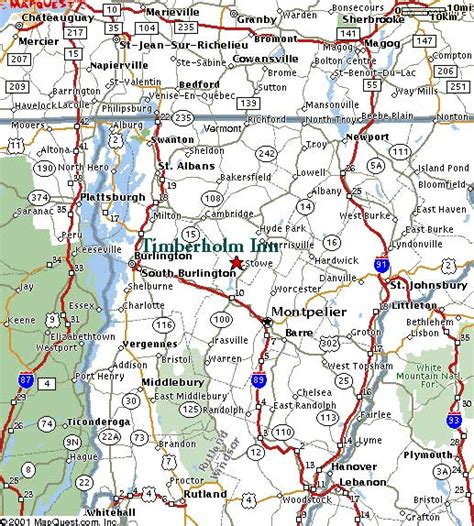 road map of vt detailed vermont road map quotes