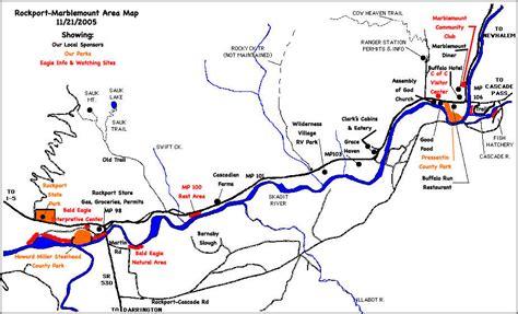skagit river fishing map skagit river bald eagle interpretive center