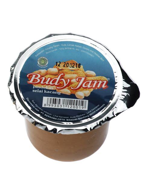 Harga Selai Kacang Budy Jam budy jam selai kacang cup 120g klikindomaret