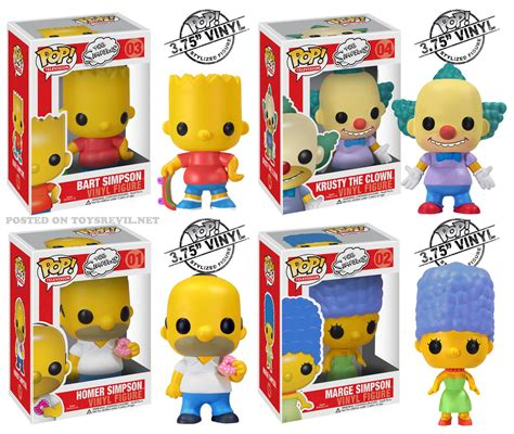 the pop the simpsons by funko pop television vinyls and plushies