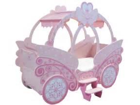 lit enfant en forme de carrosse 90x190cm princesse