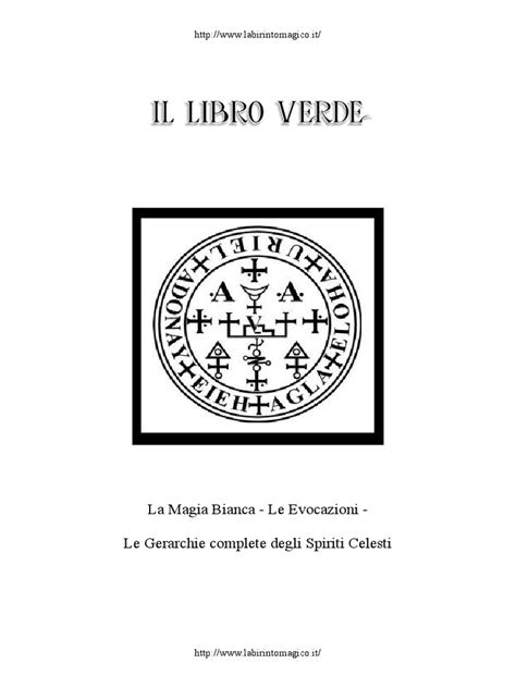 Magia Pratica Il Libro Verde | Creation Myths | Angel