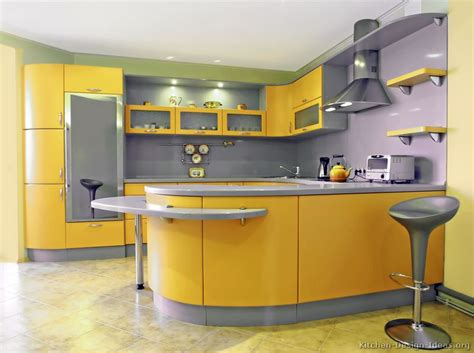 modern yellow kitchen pictures of kitchens modern yellow kitchens kitchen 9