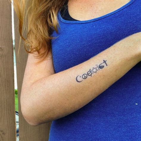 coexist tattoo best 25 coexist ideas on symbol for