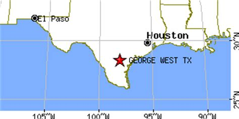 george west texas map george west texas tx population data races housing economy