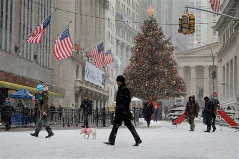 imagenes de nueva york invierno en estados unidos temporal amenaza celebraciones
