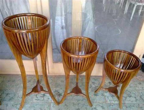 Pot Anggrek Dari Kayu 1 Set pot bunga kayu jepara store toko mebel pusat