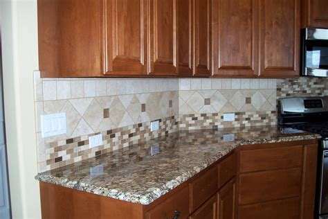backsplash designs for kitchen kitchen ceramic tile backsplash patterns decobizz