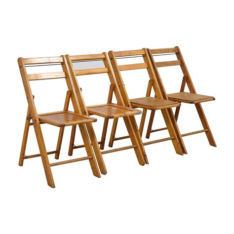 Wood Folding Dining Chairs 68 Rustic Wood Folding Chairs Chairs