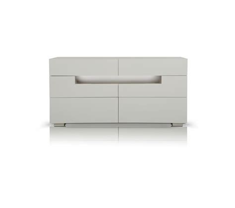 contemporary white dresser dreamfurniture cg05d modern led white lacquer dresser
