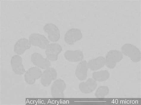 Acrylic Fiber acrylic fiber acrylian the microscope