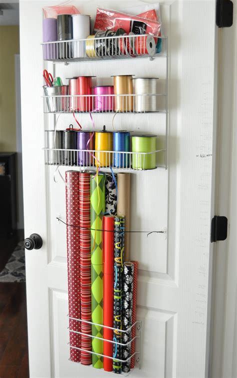 How To Wrap A For Storage by Wrapping Paper Storage Solutions That Keep The Clutter