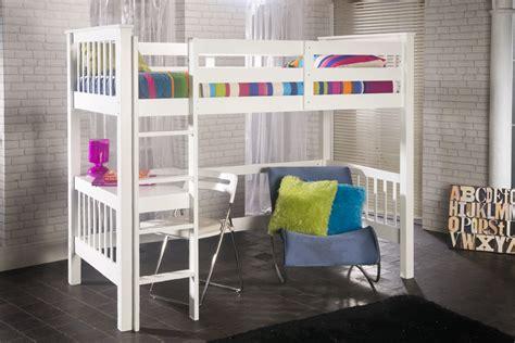 study loft bed pavo study bunk