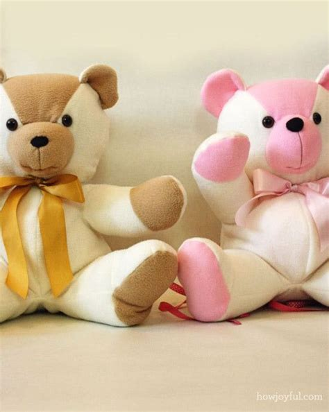 Patchwork Teddy Bears - best 10 stuffed teddy bears ideas on soft