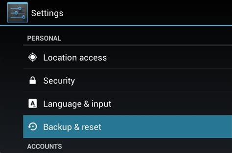 reset android to factory settings without password how to reset locked android without password