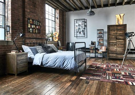 Industrial Bedroom Rustic ? Incredible Homes : Follow This