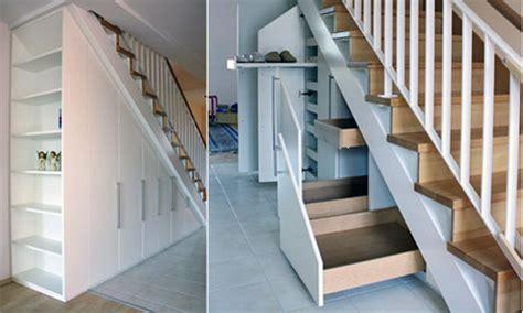 schublade in treppe den raum unter der treppe nutzen 3