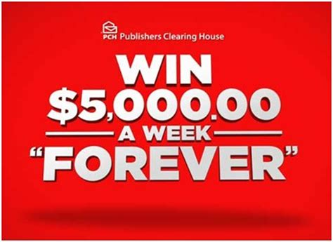 Pch 5 000 A Week For Life - win 5 000 a week quot forever quot more this august pch blog