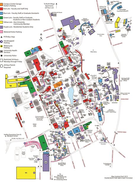 umass cus map guides and forms transportation services umass amherst