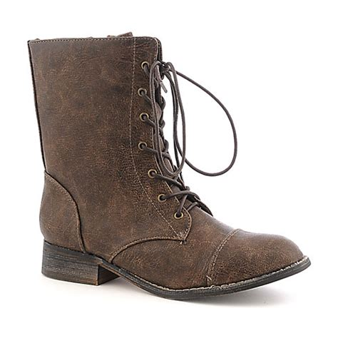 shiekh 1074 6 s brown lace up boots shiekh shoes