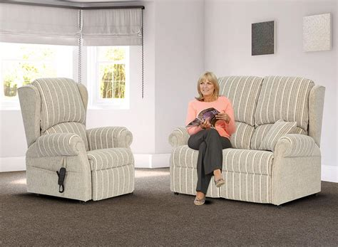 high sofa for elderly the mobility furniture company luxury bespoke mobility