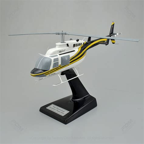 Helicopter Metal Model bell 206l 4 longranger scale model helicopter