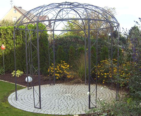 pavillon kleiner als 3m siena garden pavillon capanema 3m rund 168 185 laube