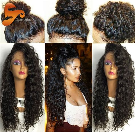 8A Pre Plucked Full Lace Human Hair Wigs With Baby