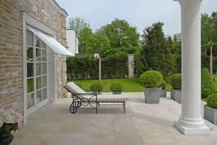 travertin terrasse marmor duarte villa wohnbereich k 252 che b 228 der terrasse