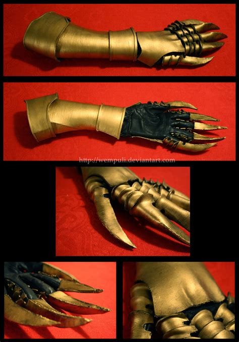 cosplay prop gauntlet by eamilia on deviantart