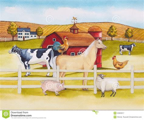 imagenes del ok corral fotograf 237 a de archivo libre de regal 237 as farmyard animals