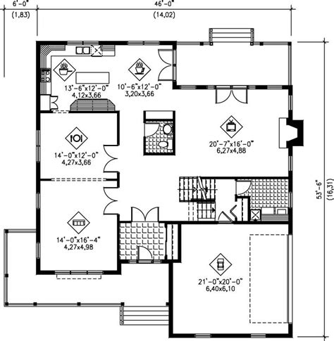 multi level home floor plans multi level house plans home design pi 20252 12207