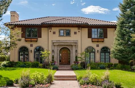 mediterranean style houses 2 1 million mediterranean style home in denver co homes of the rich the 1 real estate