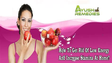 ppt how to get rid of low energy and increase stamina at