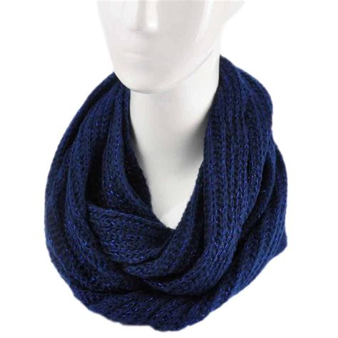 fashion knitted snood warm winter two tone
