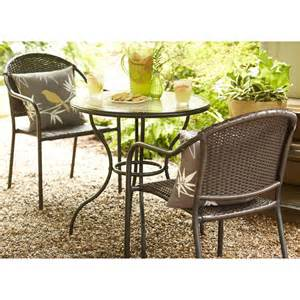 Pelham Bay Bistro Table Garden Treasures Pelham Bay 3 Outdoor Bistro Set Lowe S Canada