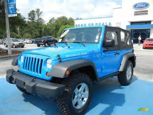 Bright Blue Jeep Wrangler 2011 Cosmos Blue Jeep Wrangler Rubicon 4x4 65970478