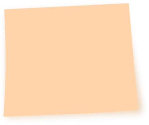 orange post it note clip at clker vector clip royalty free domain
