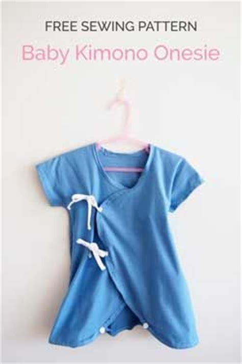 free sewing patterns so sew easy baby kimono onesie free sewing pattern and tutorial so