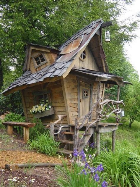 insanely cool playhouse crooked casa s pinterest