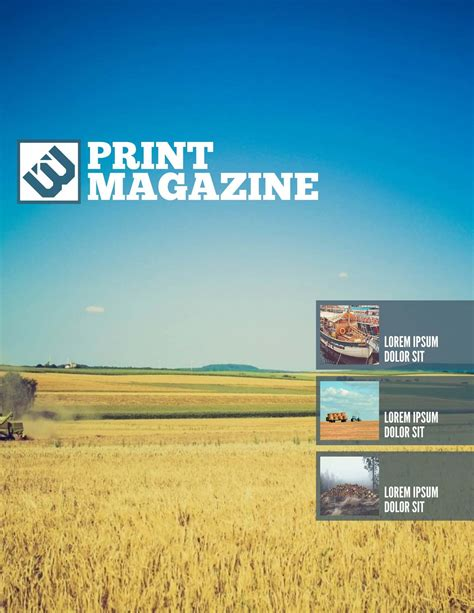 Magazine Layout Template Magazine Azure 0 2x Templates Station Microsoft Publisher Magazine Cover Template