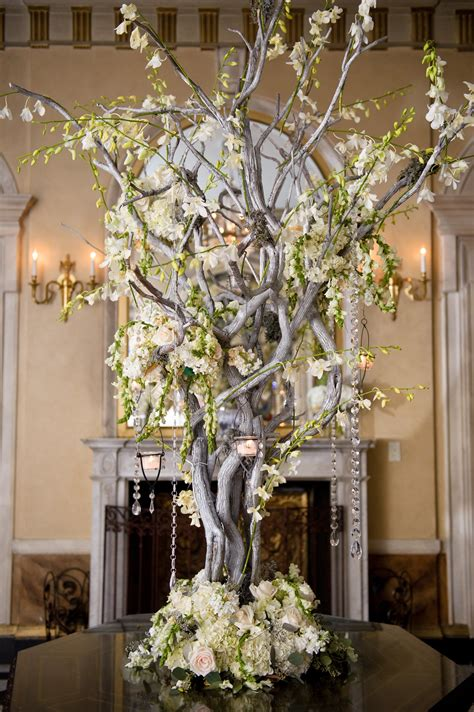 tree branch centerpieces for weddings manzanita branch centerpiece