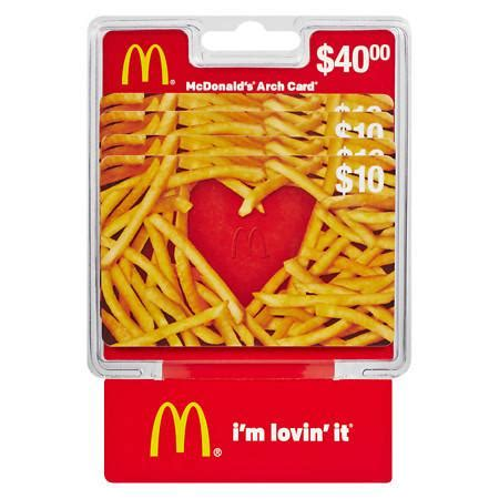 How Much Is On My Mcdonalds Gift Card - best how much money on my mcdonalds gift card noahsgiftcard